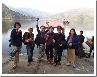 ネパールベグナス湖