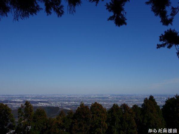 鐘ヶ嶽浅間神社からの眺望