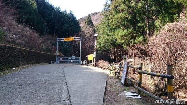 鐘ヶ嶽ナナメ歩き