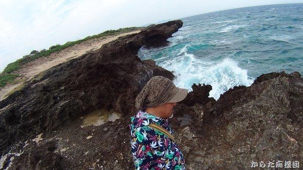 久高島カベール岬