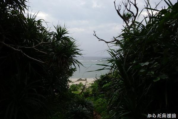 久高島ピザ浜