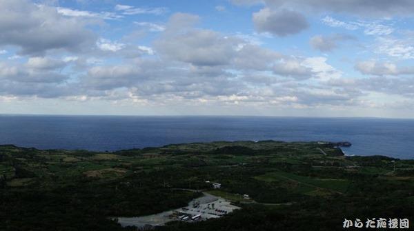 大石林山からの辺戸岬