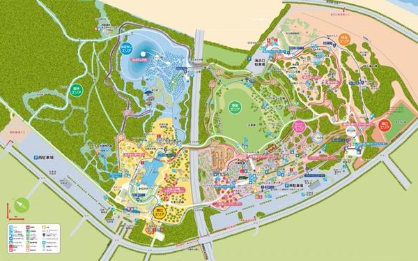 ひたち海浜公園マップ