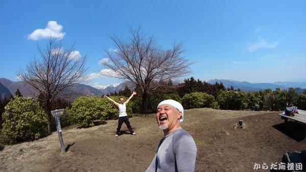 シダンゴ山山頂は360度の眺望