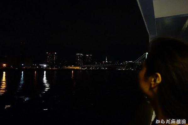 竹芝桟橋から伊豆大島へ