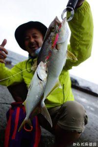伊豆大島で釣りキャンプ
