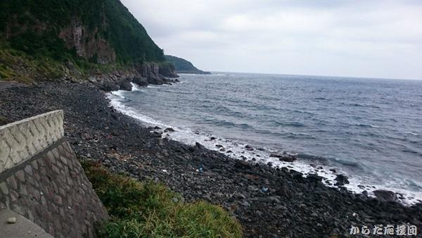 海のふるさと村のプライベートな海岸