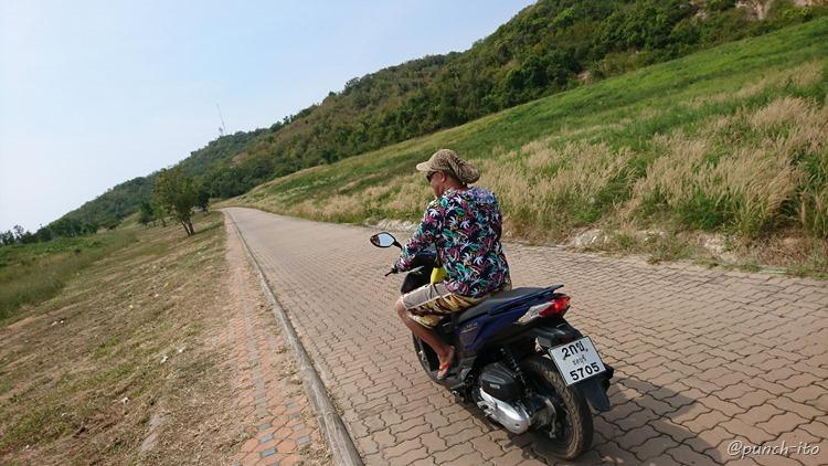 ラン島のレンタルバイク