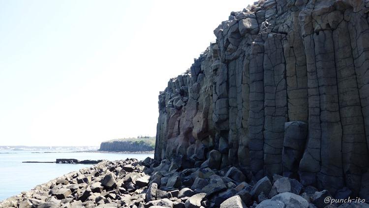 池西柱状玄武岩