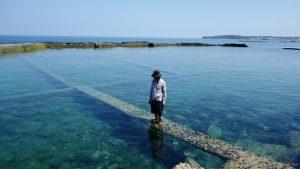 台湾の離島、膨湖(ポンフー)のビーチは驚くほどキレイで空いているのだ!!