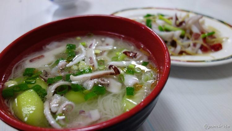 ポンフー名物イカそうめん(小菅麺線)