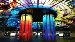 タイガーエア台湾で台湾・高雄の美麗島駅~六合夜市へ