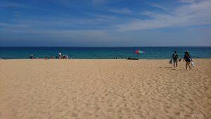 ポンフーのビーチは綺麗で空いてます!