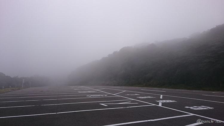 伊豆大島三原山山頂口駐車場