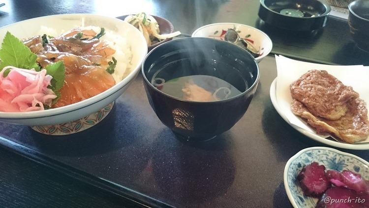 雑魚やのべっこう丼