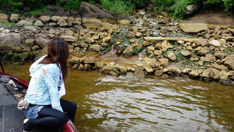 秘湯、桧原湖温泉