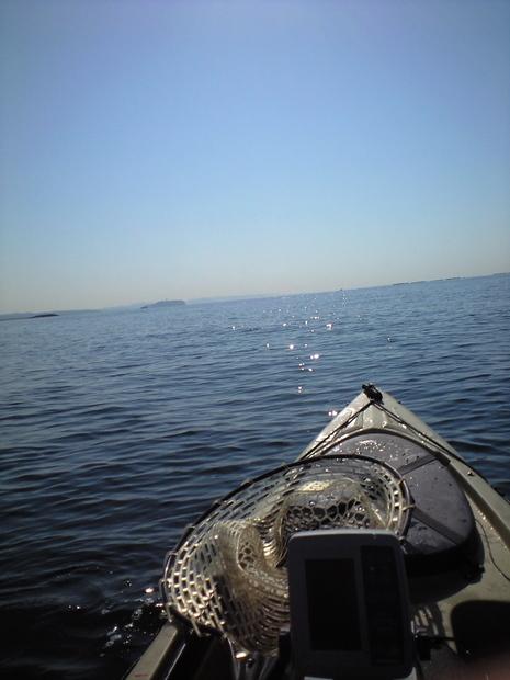 釣りとトリガーポイントと私-カヤック