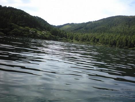 釣りとトリガーポイントと私-芦ノ湖白浜